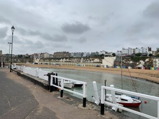 Am Strand von Broadstairs